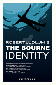THE BOURNE IDENTITY poster by rodolforever
