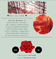 Red Nature Donation Box Code [F2U] by Coding-by-Fiona