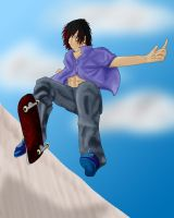 Skateboarder by AnimeVSReality