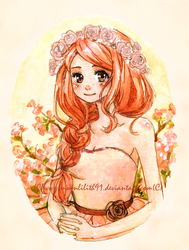 :Peach girl: by Moonlilith91
