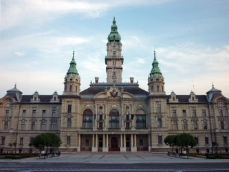 City hall, Gyor by glanthor-reviol