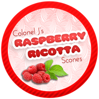 Raspberry Ricotta Scones by Echilon