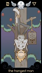 THE HANGED MAN by bluefluke