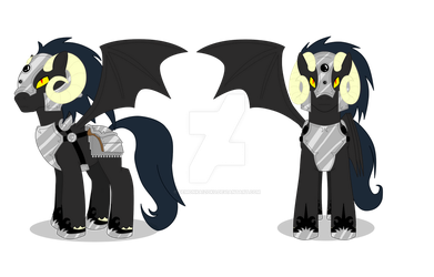 [Final Design] MLP:FIM - Erebus Character Sheet by DemonKaizoku