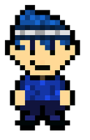 (PIXEL ART) Leroy! (Sports Gear) by Gamerbroz47