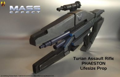 Mass Effect Phaeston Rifle Prop (3) by Euderion