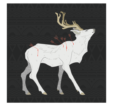 The White Stag by Lordfell