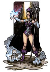 MiniCharacters - Evil Lyn by NicolasRGiacondino