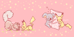 Pokemon Together by catgutts