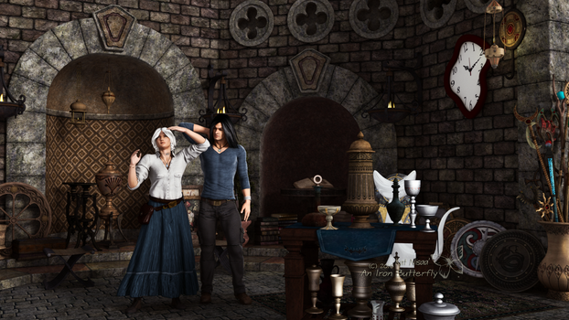 The Faire by anironbutterfly