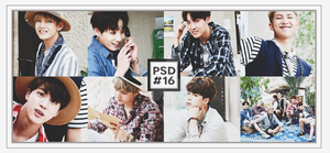 [ SPECIAL ] PSD #16 // BANGTAN SONYEONDAN by BT2k3
