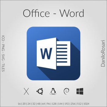 Office (Word) - Icon Pack by DaniloRosari