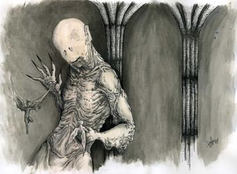 Pale Man by Cyber-Ghost