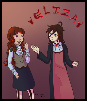 Eliza and Emma by kat-reverie