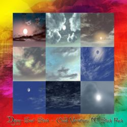 Cloud Variation Stock Pack N.1 by dying-soul-stock