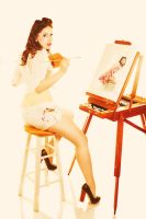 Pinup L4 by SangsterPhotography