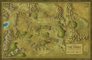 The Shire (Middle Earth) by MaximePLASSE