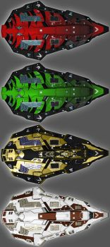 Elite Dangerous - Python Skins 03 by The-5