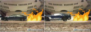 Flaming Cars by brony4all