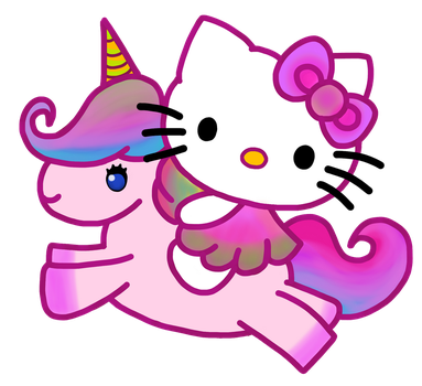 Kitty Unicorniana by ScarletIsbell