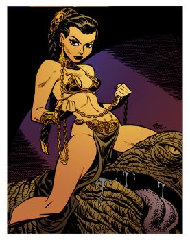 Slave No More by Bruce Timm by DrDoom1081