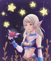 comission character Dragon nest by purloid