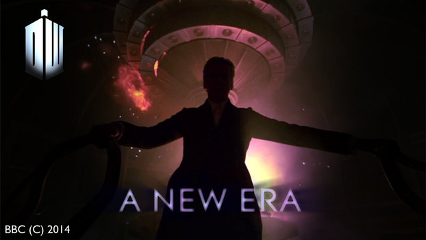 Doctor Who Series 8 Teaser Poster by BlackLanternDaddy