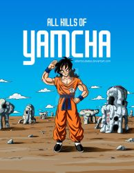 All kills of Yamcha (full color) by albertocubatas