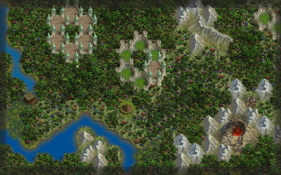 My Tropical Forest in Wesnoth by Otsifem