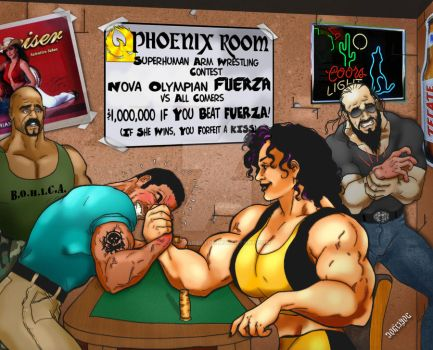Fuerza Arm Wrestling- Burgos by THE-Darcsyde