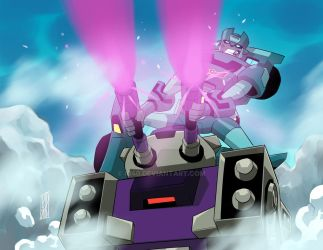 TFA x G1 Kup and Blitzwing by iq40