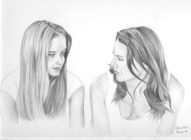 Gilmore Girls by vicious-trollop
