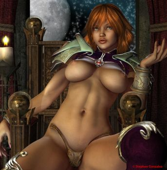 Sexy Oracle by Digitally-Devious