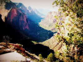 Angels Landing, Zion National Park by Shreever