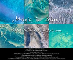 Magic in Blue Exclusive Texture Set by CD-STOCK
