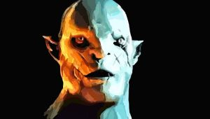 Azog the Defiler by mossoak