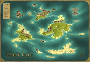 the Ember Isles by Caenwyr