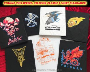 Coming this Spring! Zeleznik classic T-shirt clear by Zeleznik