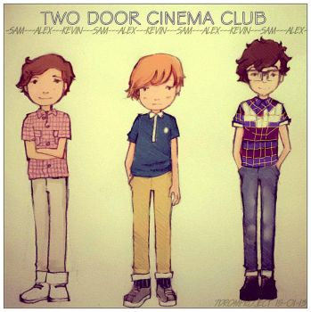 Two Door Cinema CLub by 7dromproject