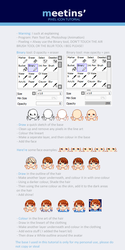 Pixel Icon Tutorial by meettins