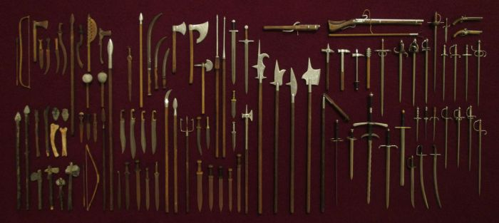 More Than 100 Historical Weapons by AtriellMe