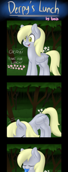 Derpy's Lunch by Lamiaaaa