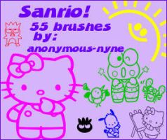 Sanrio PSP9 Brushes by anonymous-nyne