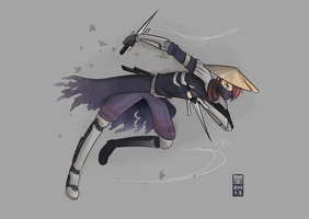 The Assassin (Aeon) by RoseCG