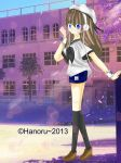 Hanami-chan (with background) by Hanoru