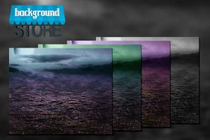 Free Meadow at Night Background by BackgroundStore