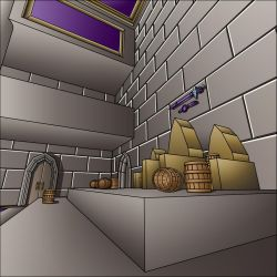 Throne Room 2 by Marie-August