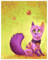 Apple by griffsnuff