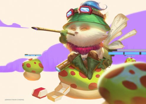 Teemo by JohnathanChong
