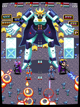 Newgrounds in Space arcade mockup by ScepterDPinoy
